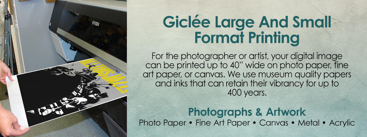 Giclee Large Format Printing
